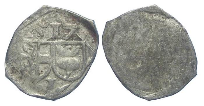 World Coins - Austria. Salzburg. Leonhard von Keutschach, AD 1495 to 1519. Silver pfennig, DATED 1517