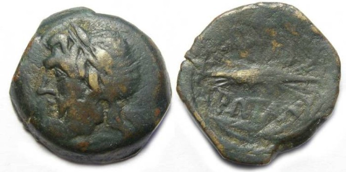 Ancient Coins - Epeirus under the Epeirote Republic.  ca. 238 to 168 BC.  AE 22.