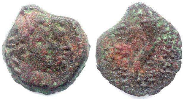 Ancient Coins - Seleukid Kingdom, Antiochos VIII, 121 to 96 BC. AE 15.