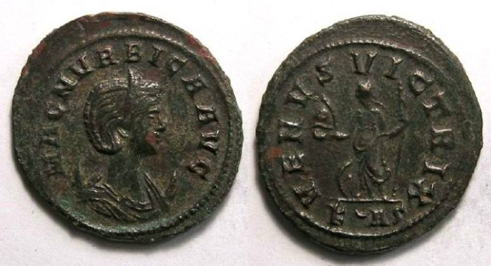Ancient Coins - Magnia Urbica, AD 283 TO 285. Bronze antoninianus