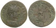 Ancient Coins - AMPHIPOLIS IN MACEDONIA. Macrinus.  AD 217-218.  AE 22.