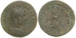 Ancient Coins - Macrinus.  AMPHIPOLIS IN MACEDONIA.  AD 217-218.  AE 22.