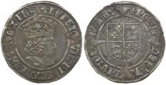 World Coins - English, Henry VII, Groat, AD 1489 to 1509.