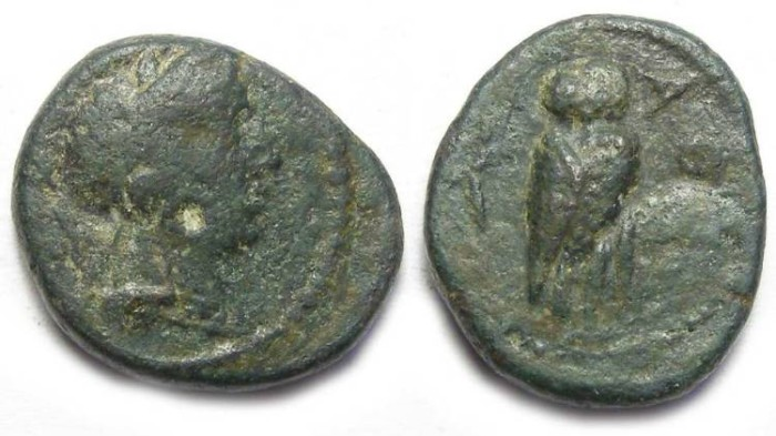 Ancient Coins - Athens, ca. 3rd century BC. AE 15.