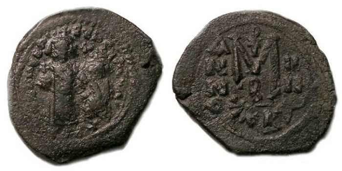 Ancient Coins - Byzantine. Heraclius. ca. AD 610-641