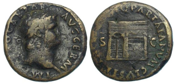 Ancient Coins - Nero, AD 54 to 68. AE As.