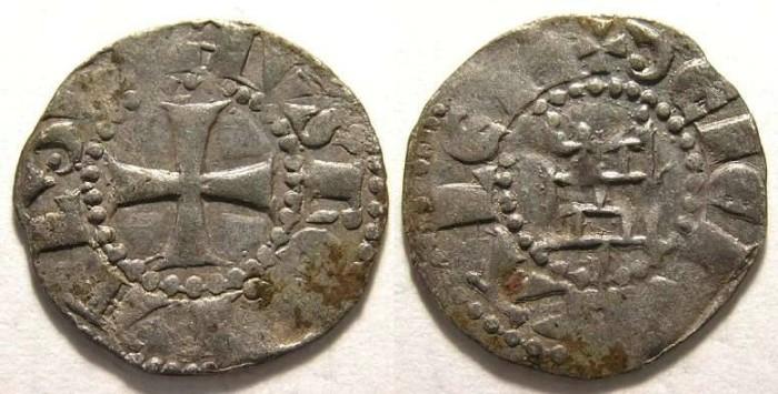 Ancient Coins - Kingdom of Jerusalem, Baldwin III, AD 1143-113.