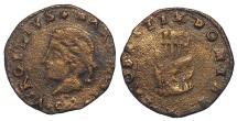 World Coins - ITALY, MANTUA.  FRANCESCO II GONZAGA.  1484-1519.  AE QUATTRINO
