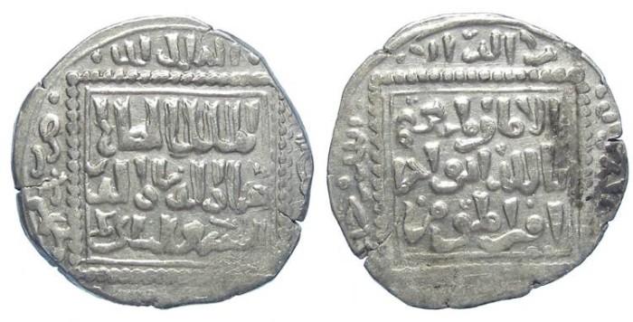 Ancient Coins - Crusaders. Kingdom of Tripoli. imitation of Abbasid silver.