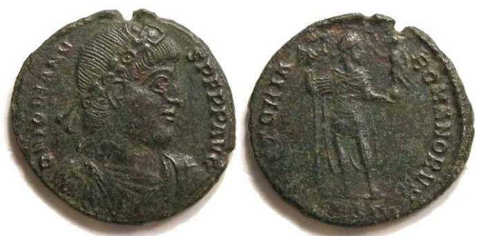 Ancient Coins - Jovian, AD 363-364. AE-1