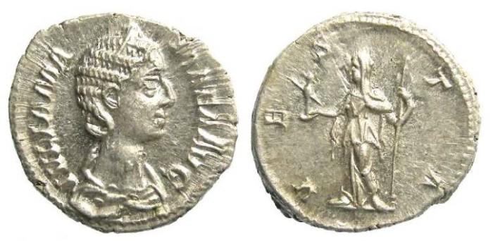 Ancient Coins - Julia Mamaea, Silver denarius, AD 227