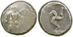 Ancient Coins - Aspendos in Pamphylia. ca. 465 to 435 BC. Silver stater