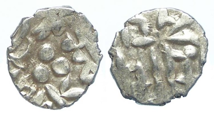 Ancient Coins - INDIA, Amirs of Multan. 9th to 10th century AD. Silver Damma.