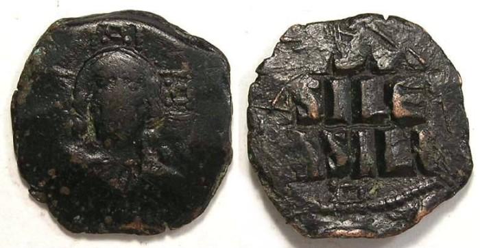 Ancient Coins - Byzantine. Anonymous follis class E