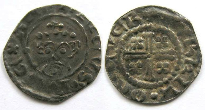 Ancient Coins - English, Henry II, AD 1154 to 1189.  Silver penny