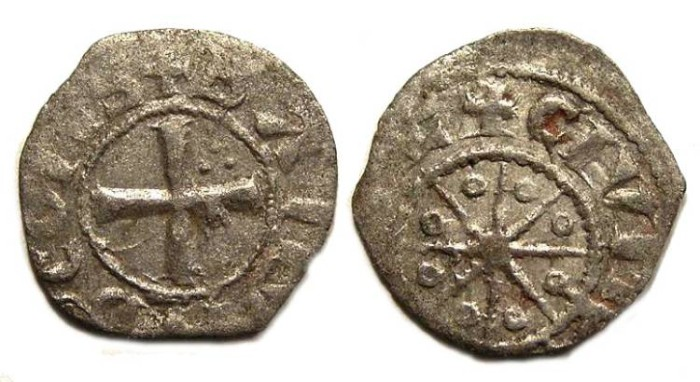 Ancient Coins - Crusaders in Tripoli. Bohemond V, AD 1233-1251.