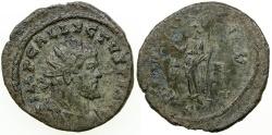 Ancient Coins - Allectus, Antoninianus, AD 293 to 296.