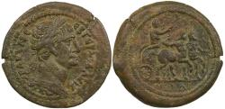 Ancient Coins - Trajan, Alexandria in Egypt, AE drachm.  Year 14, AD 110/110