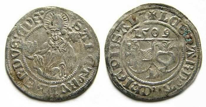 Ancient Coins - Austria. Salzburg. Leonhard von Keutschach, Silver Batzen, AD 1509