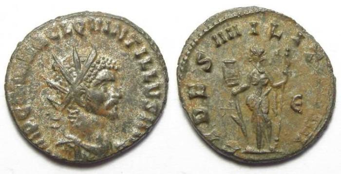 Ancient Coins - Quintillus, AD 270. AE antoninianus