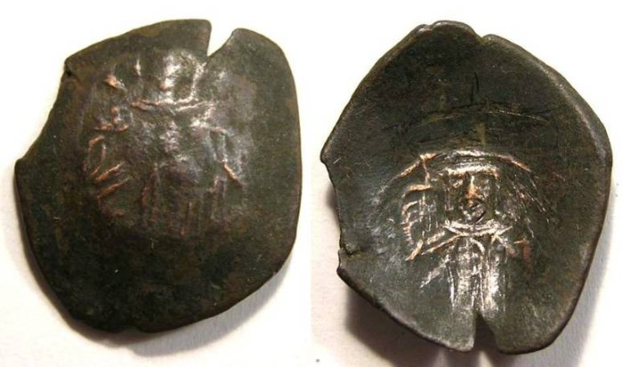 Ancient Coins - Crusader.  Latin Rulers of Constantinople.  AD 1204 to 1261.