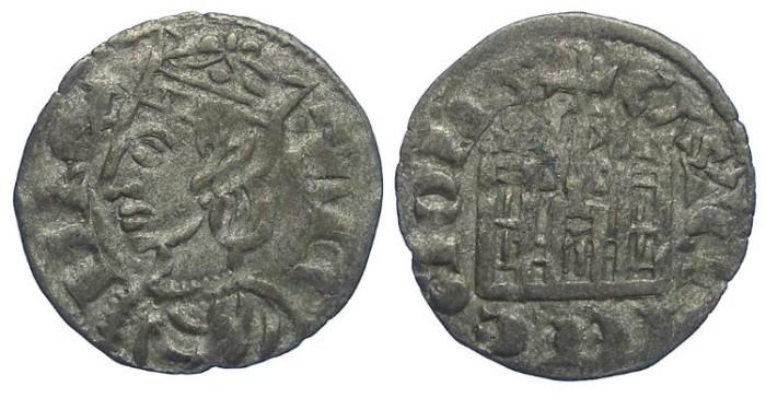 Ancient Coins - Spain, Castile & Leon. Sancho IV, AD 1284-1295. Billon Coronado.