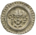 World Coins - Germany, Konstanz. Bishop Eberhard II, AD 1248-1274. Silver Bracteat