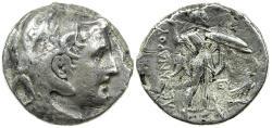 Ancient Coins - Ptolemy I as Satrap.  323-305 BC, AR tetradrachm in name of Alexander.
