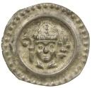 World Coins - Germany, Konstanz. Bishop Eberhard II, AD 1248-1274. Silver Bracteat