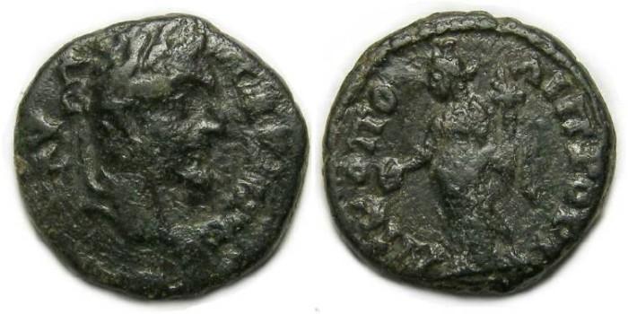 Ancient Coins - Septimius Severus, AD 193 - 211, AE 16 from Nicopolis ad Istrum