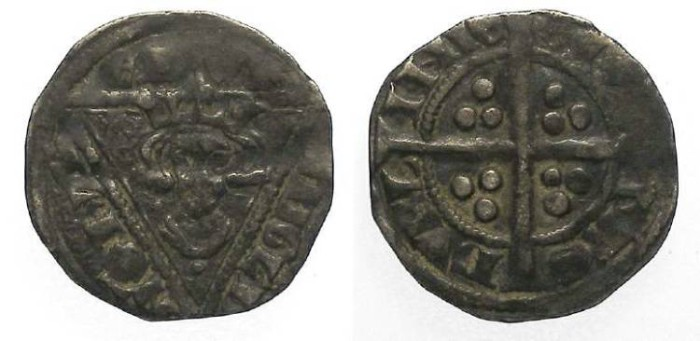 Ancient Coins - Ireland.  Edward I, AD 1272-1307.  Silver penny.