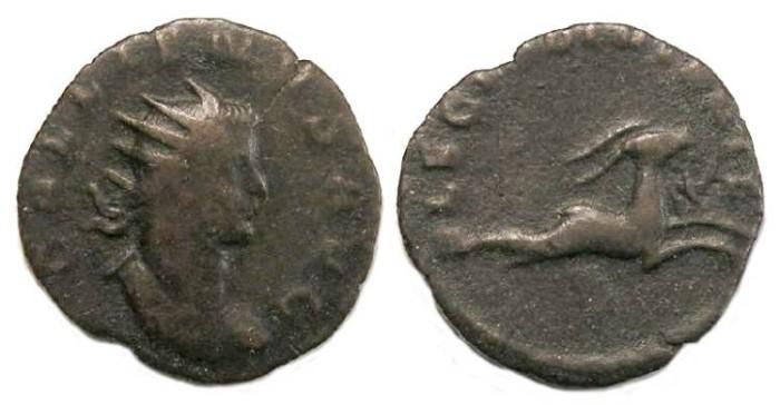 Ancient Coins - Gallienus, AD 253 to 268. Billon Legionary Antoninianus