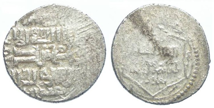 Ancient Coins - Islamic. Mongols in Persia, Ilkhan. Togha Timur, AD 1330 to 1340. Silver triple Dirhem.