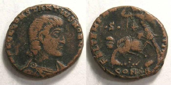 Ancient Coins - Constantius Gallus, AD 351-354. AE Centenionalis