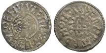 World Coins - Britain.Kings of Mercia. King Coenwolf, AD 796 to 821. RARE PORTRAIT TYPE.