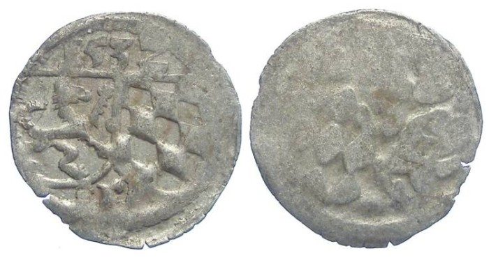 Ancient Coins - Germany, Passau Bishopric of Patavia. Ernst Herzog, AD 1517 to 1540. Billon Zweier. Dated 1532.