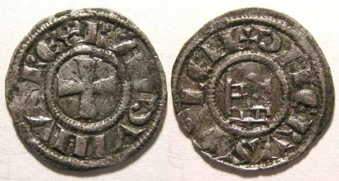 Ancient Coins - Kingdom of Jerusalem, Baldwin III, AD 1143-1163.