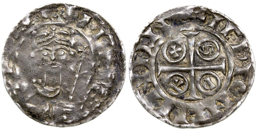 World Coins - Britain, Norman. William I, ca. AD 1068 to 1087. Silver penny.
