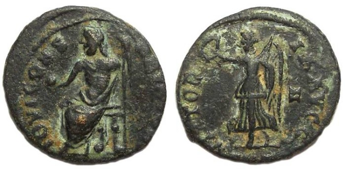 Ancient Coins - Maximinus II, AD 303 to 313. AE 3.