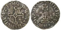 World Coins - ITALY, BENEVENTO.  SICO, AD 817=832.  AR DINERO.