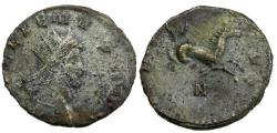 Ancient Coins - Gallienus, Antoninianus, AD 253 to 268. Hippocamp