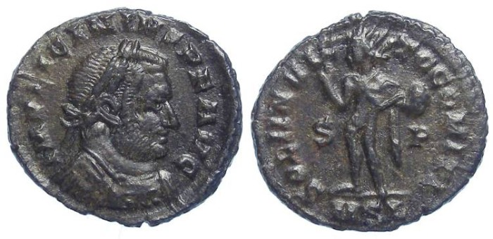 Ancient Coins - Licinius. AD308 to 324. AE 3. LONDON MINT.