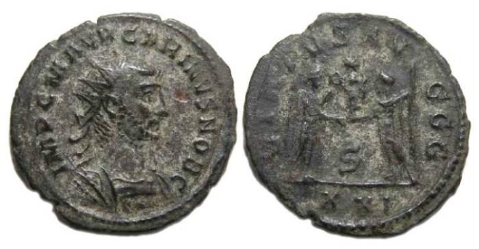 Ancient Coins - Carinus, AD 283-285. Bronze Antoninianus.