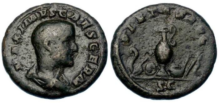 Ancient Coins - Maximus as Caesar. AD 235 to 238. AE as or dupondius.
