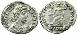 Ancient Coins - Honorius. Siliqua, AD 393 to 423..