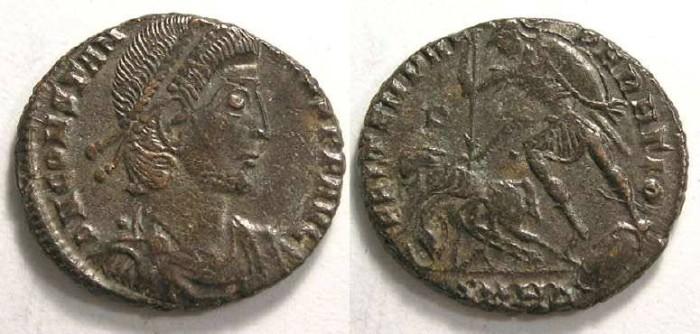 Ancient Coins - Constantius II, AD 337-361. AE Centenionalis