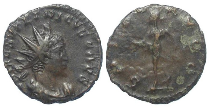Ancient Coins - Tetricus II, as Caesar. AD 273 to 274. Bronze Antoninianus