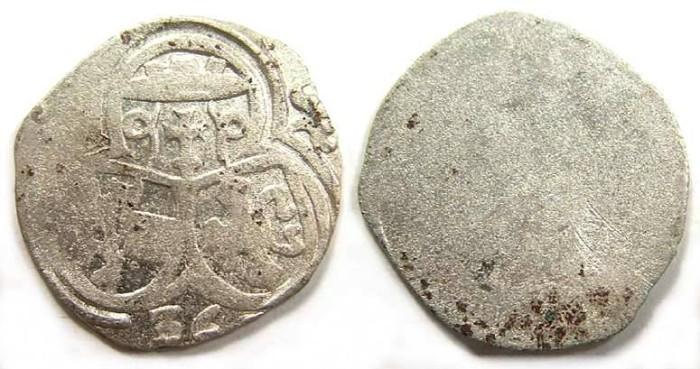 Ancient Coins - Austria, Salzburg. Matthaus Lang von Wellenburg, AD 1536. Silver 1/2 Kreuzer