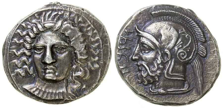 Ancient Coins - Cilicia, Tarsos. Satrap Pharnabazos, 380-374/3 BC. Silver stater.