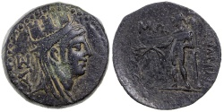 Ancient Coins - KELENDERIS IN CILICIA.  2ND TO 1ST CENTURY BC.  AE 22.
